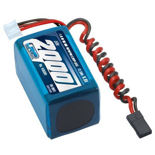 Li-Fe 6.6v 2000mah Hump Receiver Pack