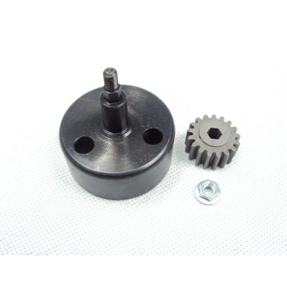 Hex Drive Clutch Bell w/17T Pinion
