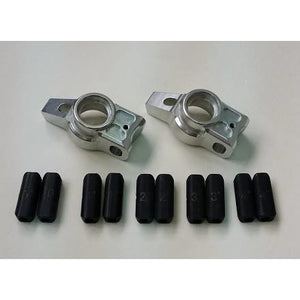 Alloy Rear Hubs w/Toe Spacers