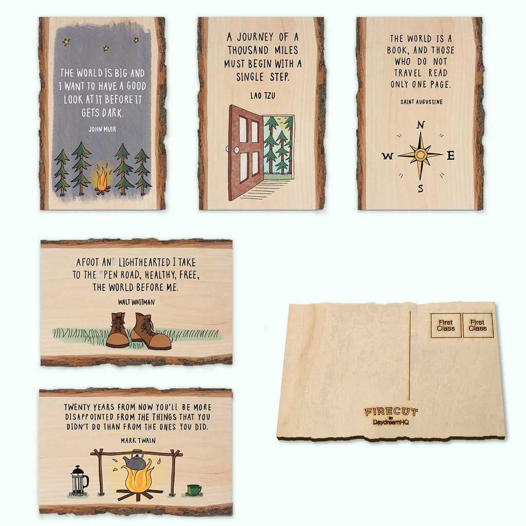 Mailable Wood Postcards
