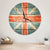 British Flag Wood Wall Clock - Indoor & Outdoor Decor DaydreamHQ Pine Wall Art