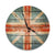 British Flag Wood Wall Clock - Indoor & Outdoor Decor DaydreamHQ Pine Wall Art 30""