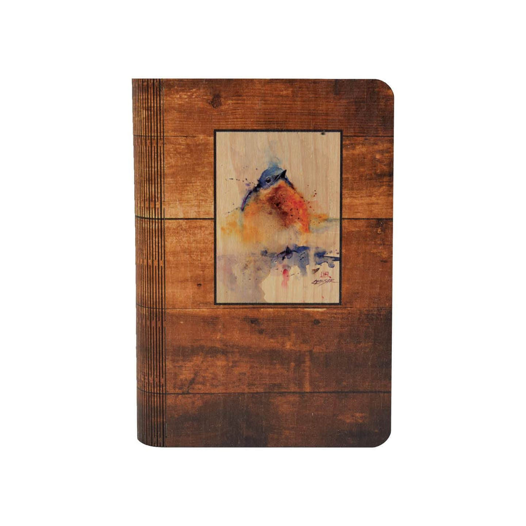 Baby Bluebird - One Piece Wood Journal DaydreamHQ Gift