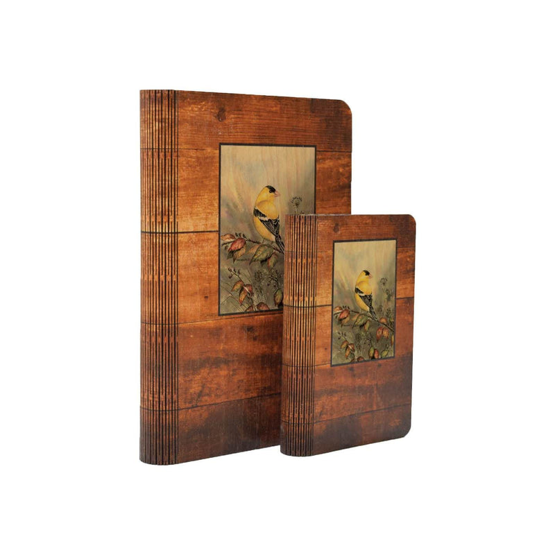 Bartholet's Backyard Gold - One Piece Wood Journal DaydreamHQ Gift