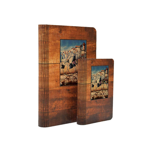 West's Baker Bikes - One Piece Wood Journal DaydreamHQ Gift