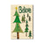 Burgess' Believe Trees - Mailable Wood Postcard - Single Image Multi Pack DaydreamHQ