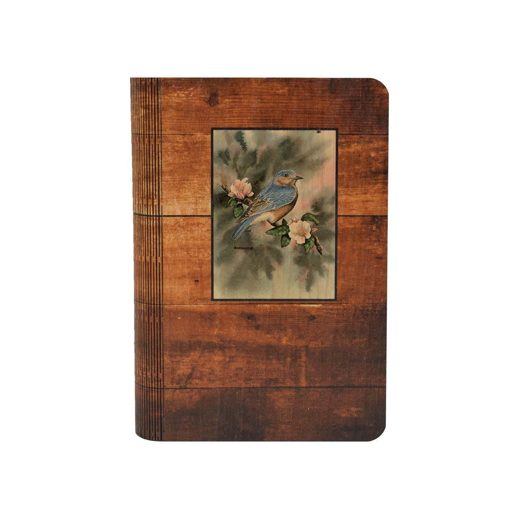Bartholet's Bluebird - One Piece Wood Journal DaydreamHQ Gift