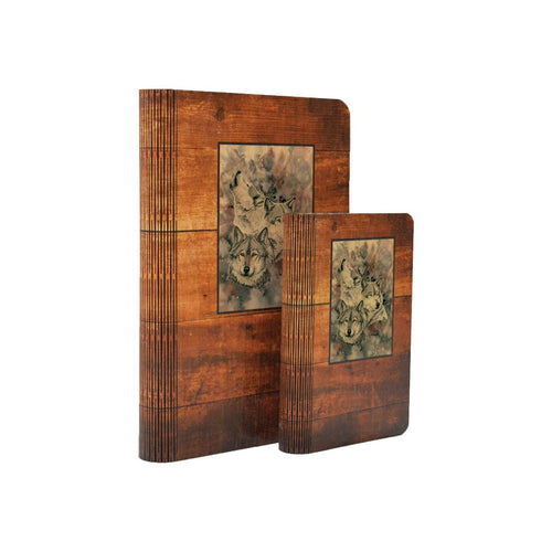Bartholet's Brethren - One Piece Wood Journal DaydreamHQ Gift