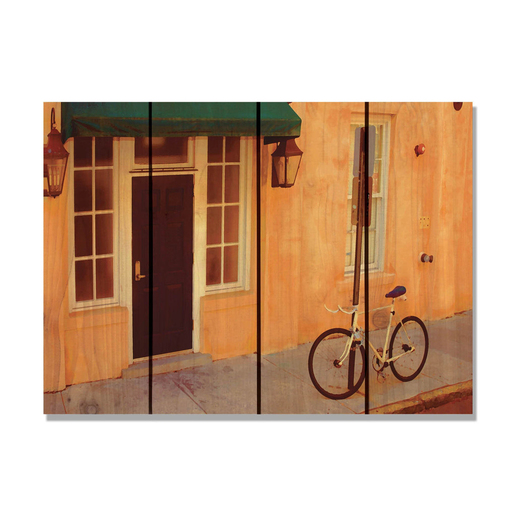 Curb Appeal - Wood Wall Art DaydreamHQ FenceEscape 22x16