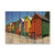 Colored Cabanas - Colorful Wood Wall Art DaydreamHQ FenceEscape 33x24