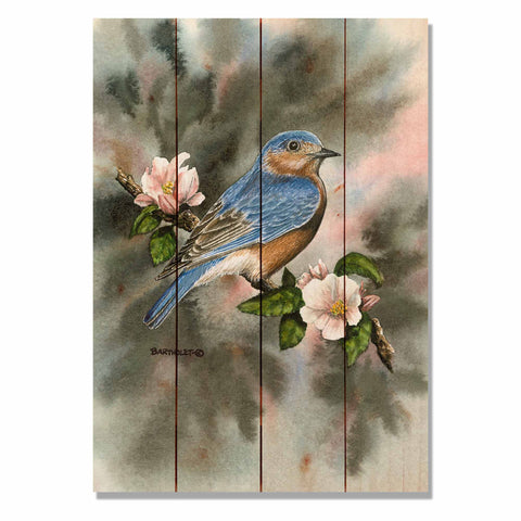 Bartholet's Bluebird - Wile E. Wood Art Signature Series™