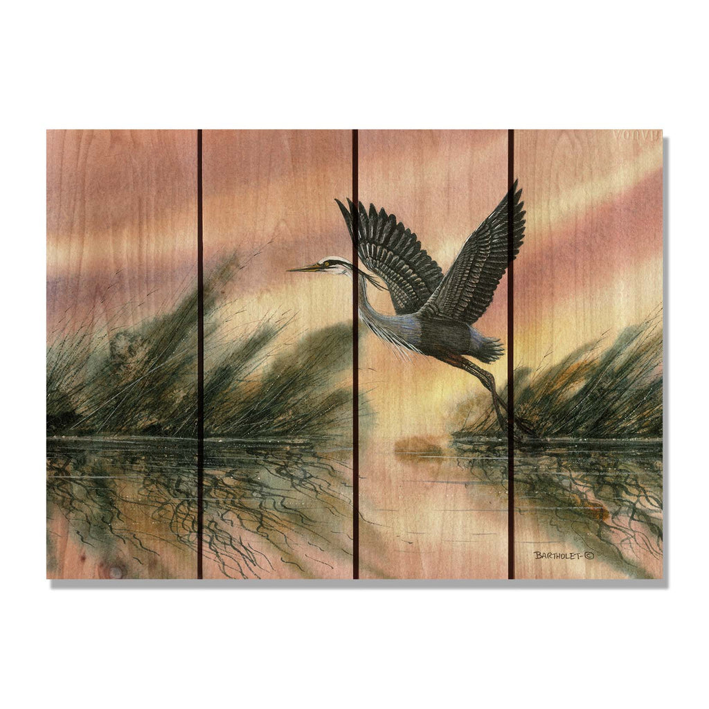 "Bartholet's Cool of the Morning - Gizaun Art Signature Series DaydreamHQ Pine Wall Art 22""x16"""