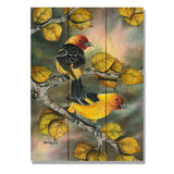 Bartholet's Tanagers - Wile E. Wood Art Signature Series™