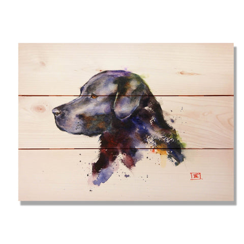 Crouser's Black Lab - Wile E. Wood Art Signature Series™