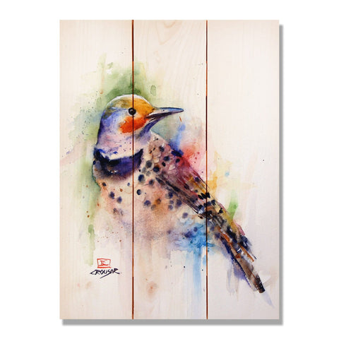 Crouser's Colorful Bird - Wile E. Wood Art Signature Series™