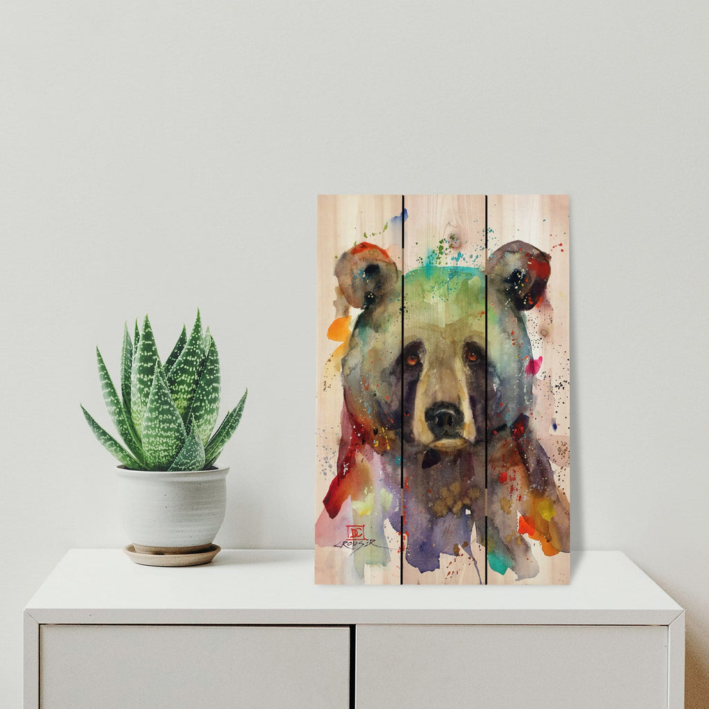 Colorful Bear by Crouser DaydreamHQ 16x24