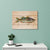 Crouser's Largemouth - Classic Pine Wood Artist Series DaydreamHQ Pine Wall Art