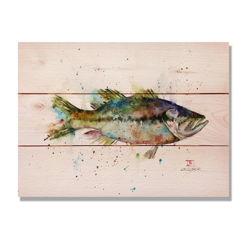 Crouser's Largemouth - Wile E. Wood Art Signature Series™