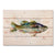 "Crouser's Largemouth - Classic Pine Wood Artist Series DaydreamHQ Pine Wall Art 20""x14"""