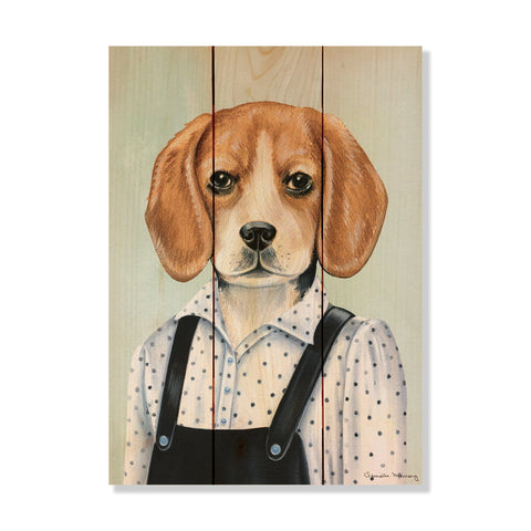 Murray's Beagle - Wile E. Wood Art Signature Series™