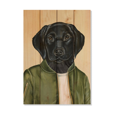 Murray's Black Labrador - Wile E. Wood Art Signature Series™
