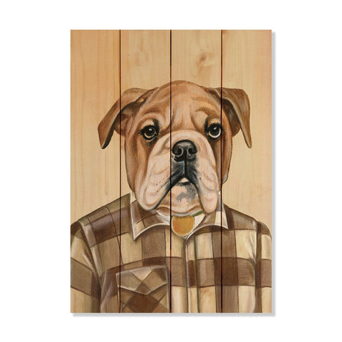 Murray's Bulldog - Wile E. Wood Art Signature Series™