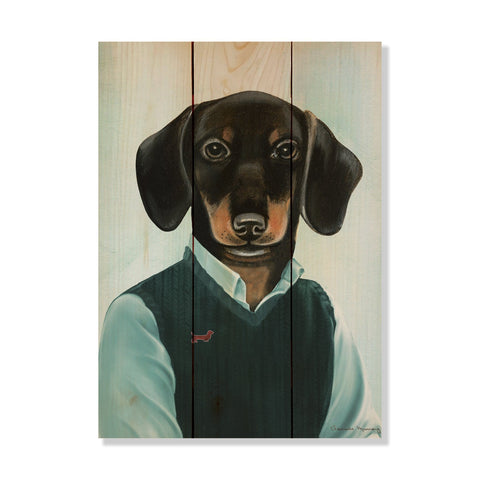 Murray's Dachshund - Wile E. Wood Art Signature Series™