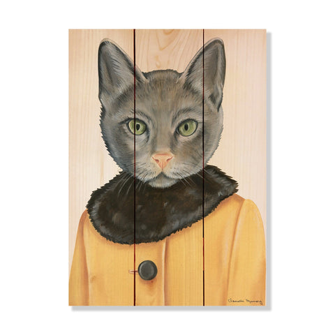 Murray's Gray Cat - Wile E. Wood Art Signature Series™