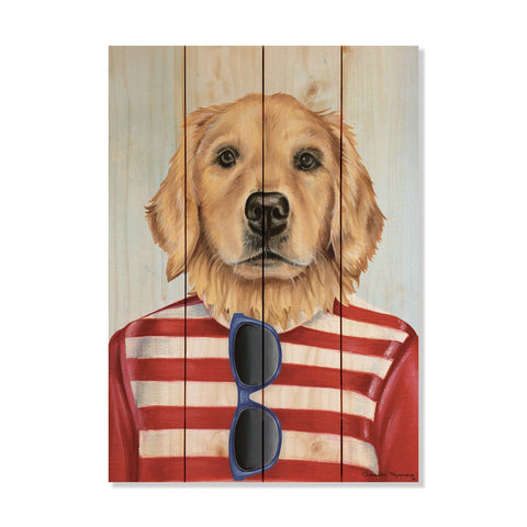 Murray's Golden Retriever - Wile E. Wood Art Signature Series™