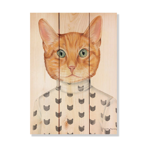 Murray's Orange Cat - Wile E. Wood Art Signature Series™