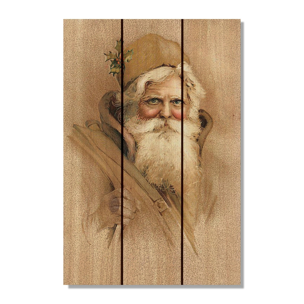 Father Christmas - Gizaun Art DaydreamHQ FenceEscape 16x24