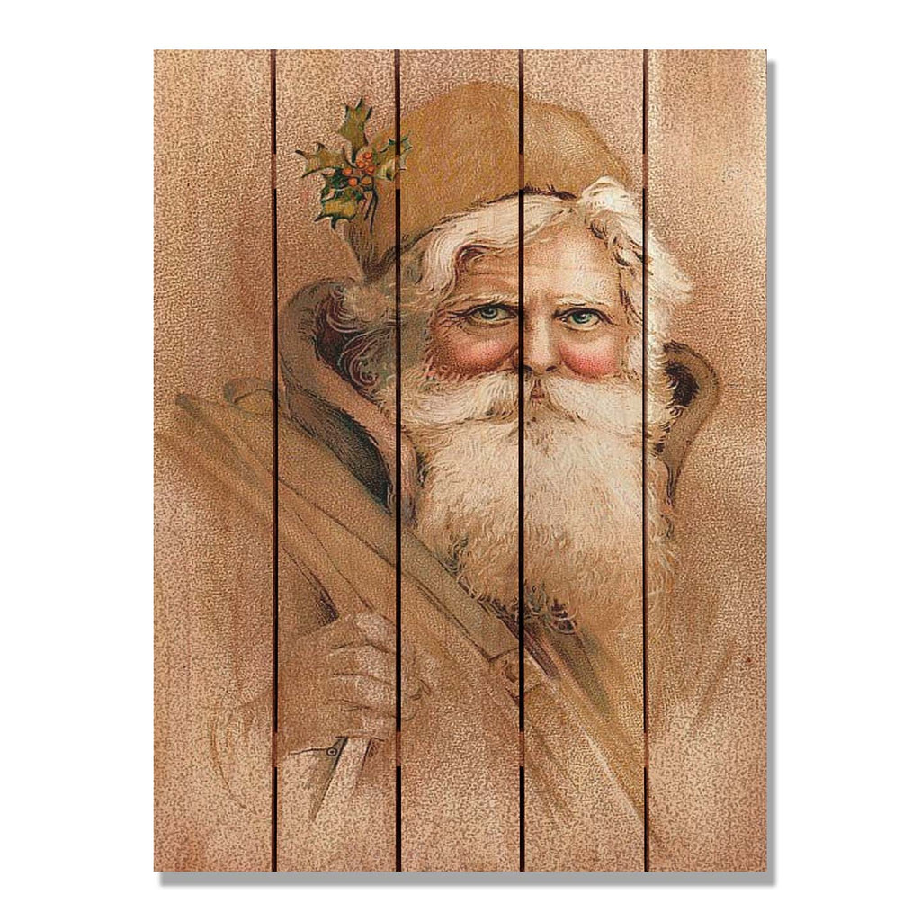 Father Christmas - Gizaun Art DaydreamHQ FenceEscape 28x36