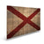 "Alabama State Historic Flag on Wood - Indoor & Outdoor Wall Art DaydreamHQ Pine Wall Art 44""x30"""