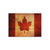 Test Product Rustic Canadian Flag on Wood - Indoor & Outdoor Wall Art DaydreamHQ Pine Wall Art 15X11
