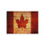 Test Product Rustic Canadian Flag on Wood - Indoor & Outdoor Wall Art DaydreamHQ Pine Wall Art 20x14