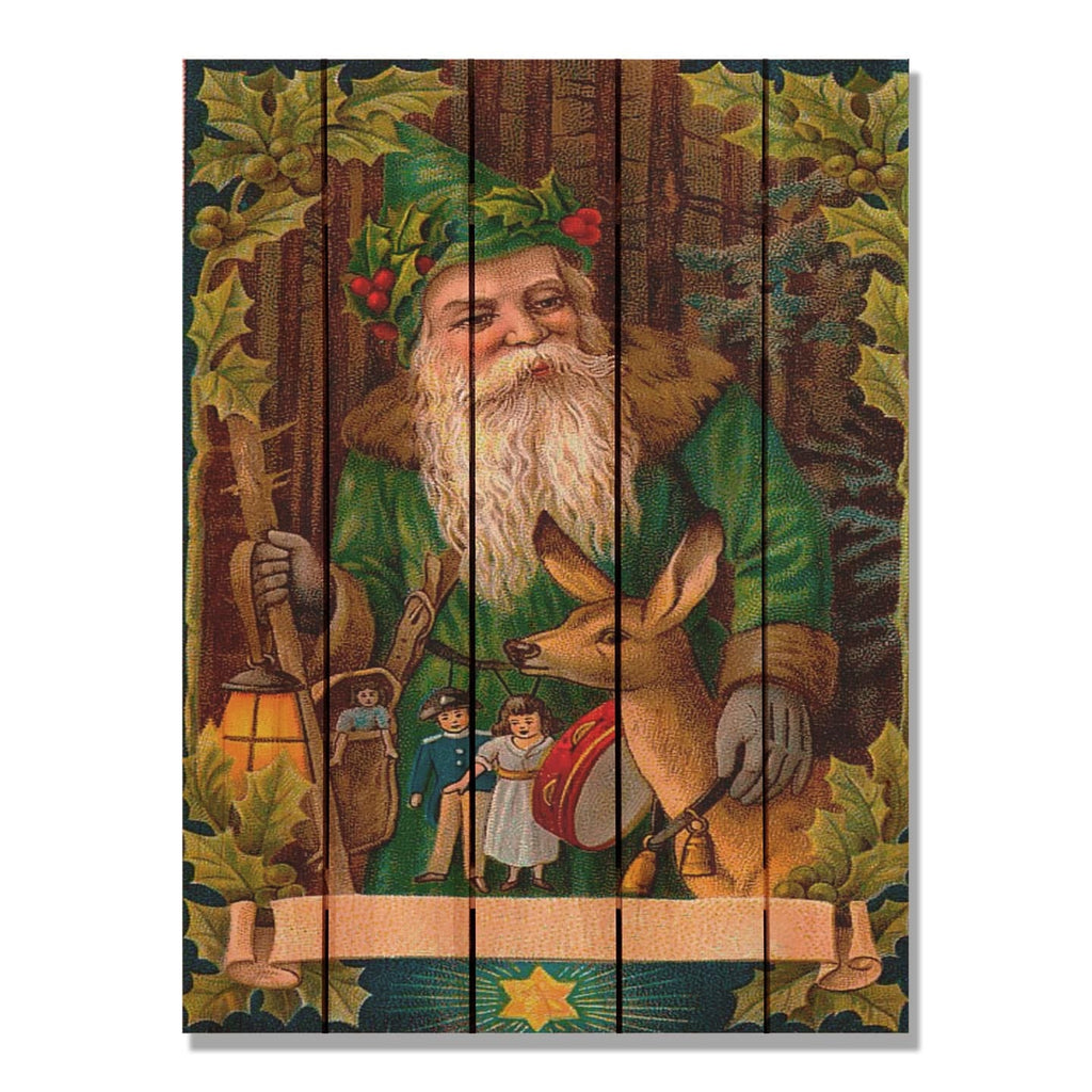 Forest Santa - Gizaun Art DaydreamHQ FenceEscape 28x36
