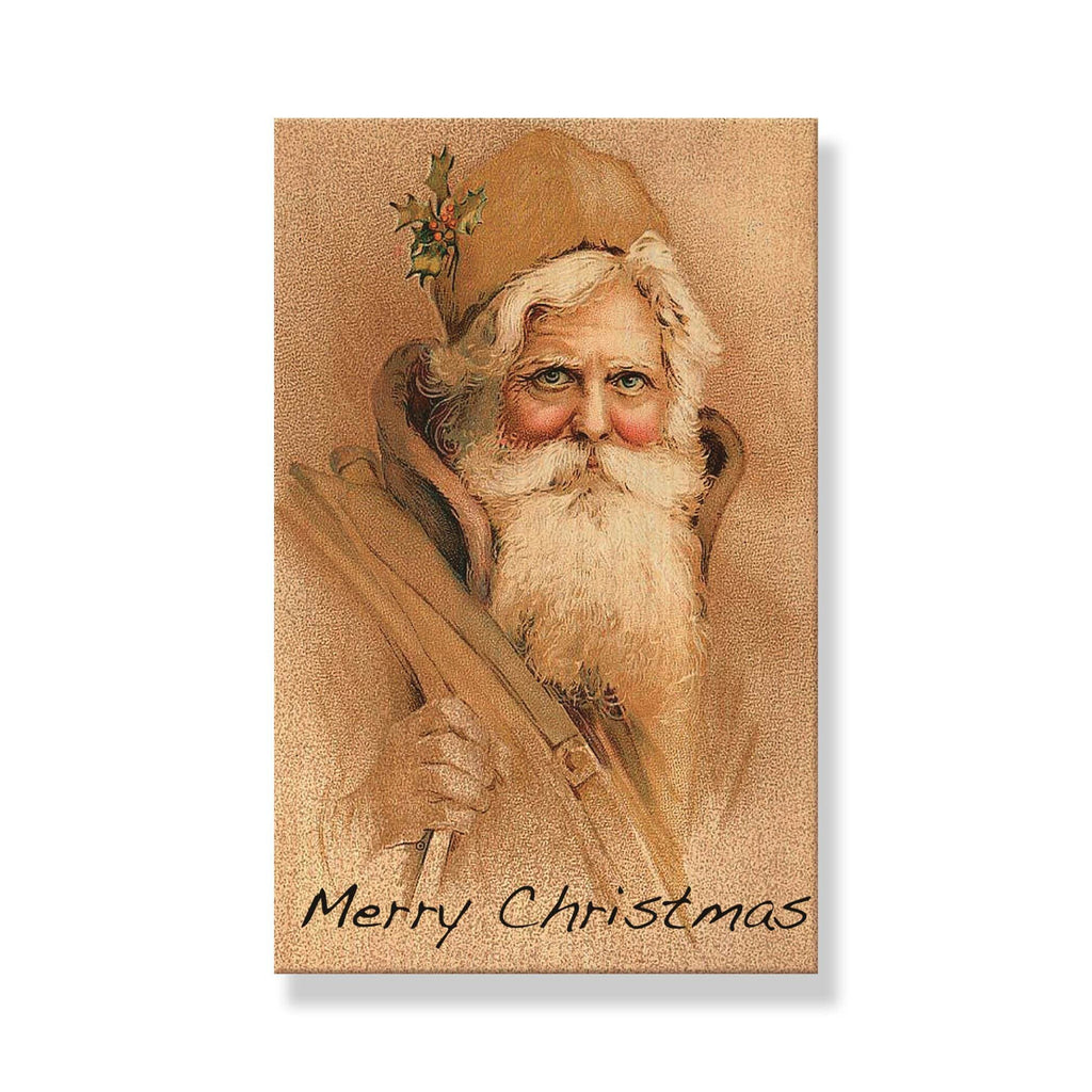 Copy of Vintage Red Santa - Mailable Wood Postcard - Single Image Multi Pack DaydreamHQ