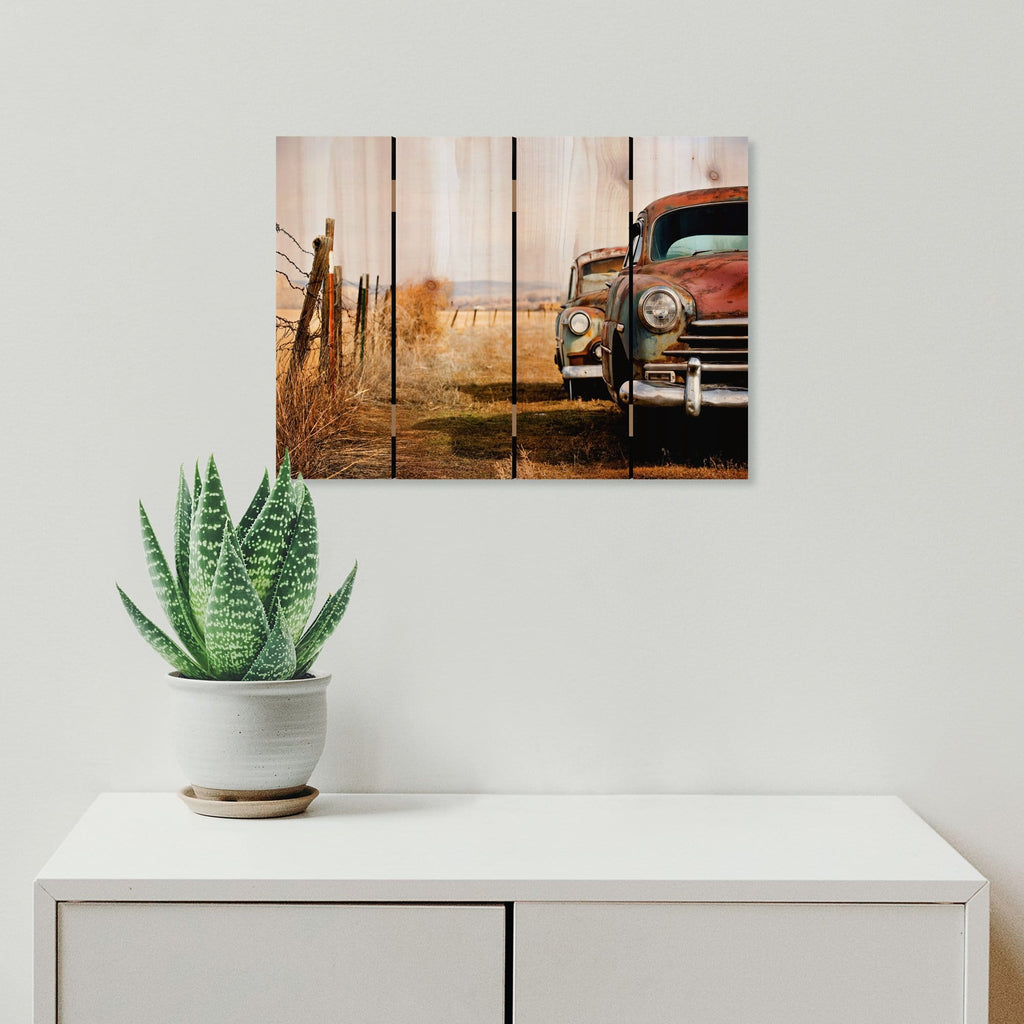 Rest Stop - Photography on Wood DaydreamHQ Photography on Wood 22x16