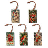 Giordano's Winter Birds Set - Pack of 5 Wood Ornaments Daydream HQ Ornament