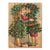 Kissing Kids - Christmas Wood Wall Art DaydreamHQ FenceEscape 28x36