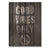 Good Vibes Only - Wood Wall Decor DaydreamHQ 11x15