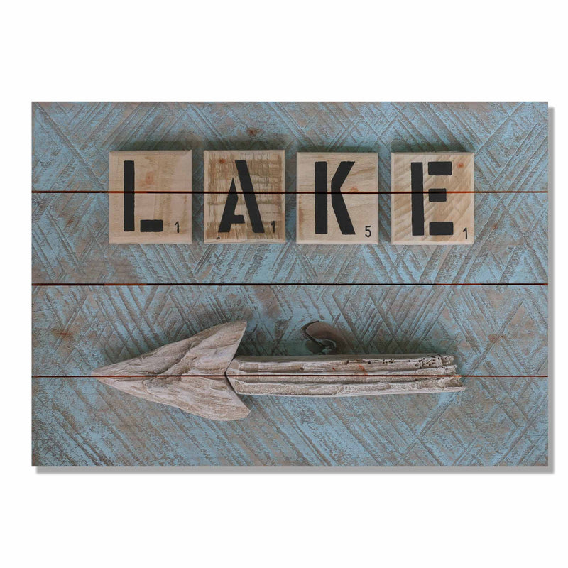 Boating Paddles - Canoe Wood Wall Decor
