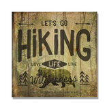 Let's Go Hiking - 17x17