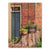 No. 10 Brick House - Wood Wall Art DaydreamHQ FenceEscape 28x36