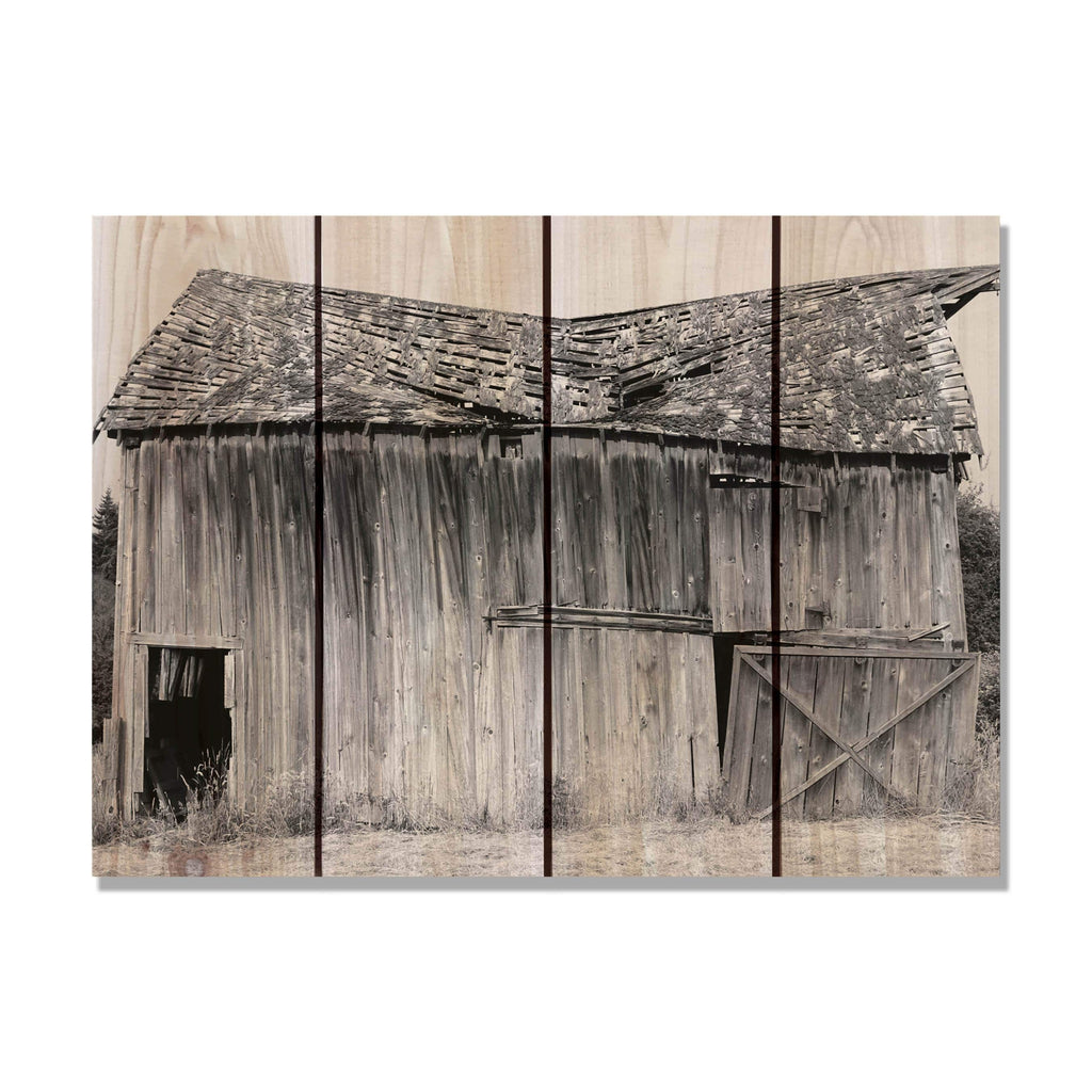 Old Barn - Wood Wall Art DaydreamHQ FenceEscape 22x16