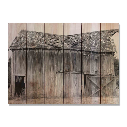 Old Barn - Wood Wall Art DaydreamHQ FenceEscape 33x24
