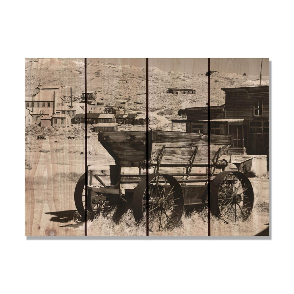 Old West - Wood Wall Art DaydreamHQ FenceEscape