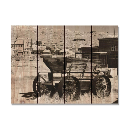 Old West - Wood Wall Art DaydreamHQ FenceEscape 22x16