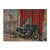 Painted Dreams - Motorcycle Wood Wall Art DaydreamHQ FenceEscape 33x24