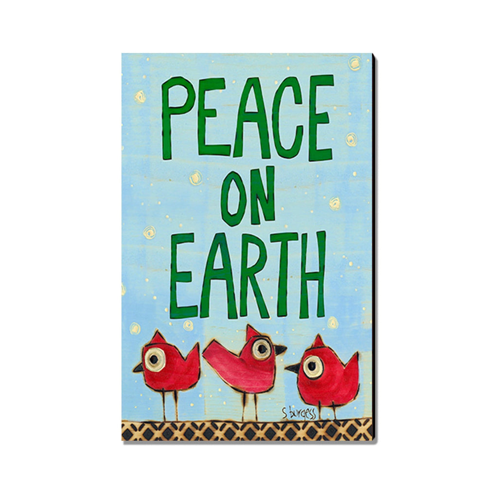 Burgess' Peace Birds - Mailable Wood Postcard - Single Image Multi Pack DaydreamHQ
